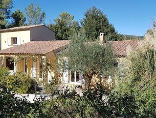 NOUVEAU : Villa 8 pers avec piscine privee entre Verdon et Cote d ' Azur