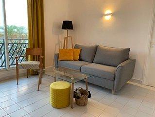 Appartement T3 dans un cadre luxuriant au bord de mer - acces plage et piscine