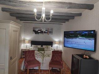 Dans le Val de Loire gîte d'exception proche Amboise  gite le Cot