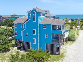The Sunny B - Peaceful 5 Bedroom Oceanfront Home in Avon