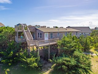 Shell Yeah - Modern 4 Bedroom Semi-Oceanfront Home in Salvo