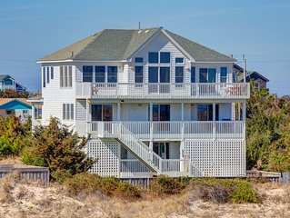 Ann's Palace - Dazzling 6 Bedroom Oceanfront Home in Salvo