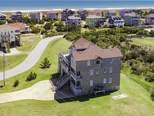 Wave Safari - Stunning 8 Bedroom Oceanside Home in Waves