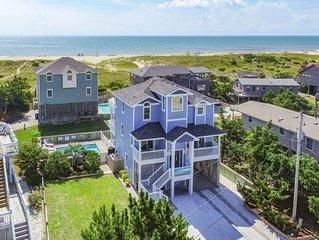 Beachcomber's Treasure - Upgraded 4 Bedroom Semi-Oceanfront Home in Avon
