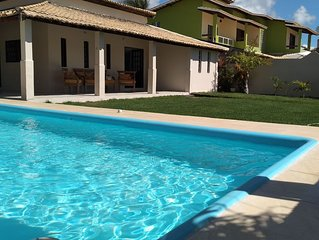 Casa de Praia com piscina em Jacuipe