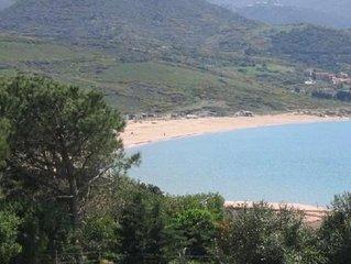 Grande villa 7 ch.clim. calme proche plages piscine securisee, grand jardin clos