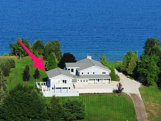 Carriage House with Two Separate Suites on Lake Michigan in Leland. Acc: 4!
