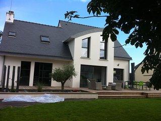 St Gildas de Rhuys- Maison de vacances 8-10 personnes - Acces internet