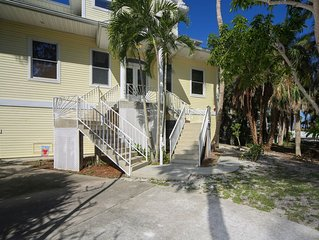 Three bedroom / three bath home on Manasota Key, directly on the Gulf of Mexico-