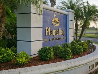 This two bedroom, two bath villa in Plantation Golf and Country Club!- Plantatio