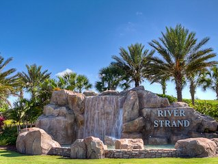 A Beautiful River Strand Town Home with Amazing Golf Course Views: River Strand