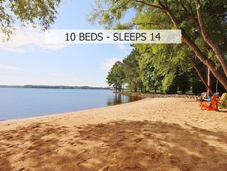 Lake Norman Breakaway (6 separate sleeping areas)