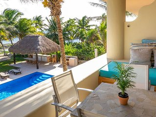 Fesh Ocean front 2BR FAST WiFi for 1200US a month