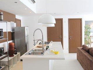 SL1101 CaviRio - Luxuoso apartamento em Copacabana