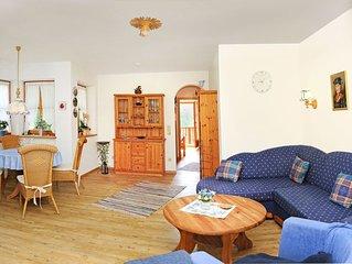 Ferienwohnung Unternberg (58qm), Balkon, Kuche extra, 1 Schlaf- und 1 Wohn-/Schl