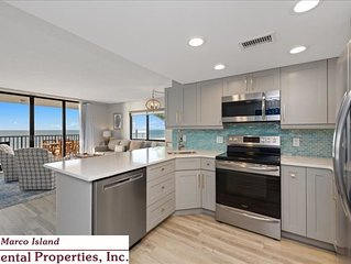 Sea Winds 306; Beautifully Remodeled 3rd Floor Beachfront Condo!
