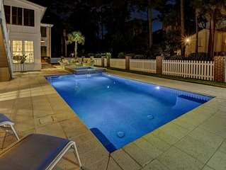 Premium Luxury Five Bedroom 4th Row Ocean Home with a Private Pool & Spa