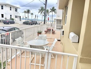 1 Bedroom in 50 steps from the Beach!