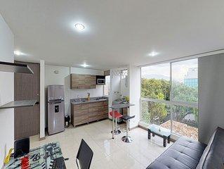 Apto ideal para parejas con balcón - Apt for couples w/ private balcony