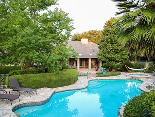 Hill Country Pool Oasis near Boerne & San Antonio!