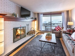Ski On-Ski Off Updated Condo with Real Wood Fire Place and King Bed - Killington
