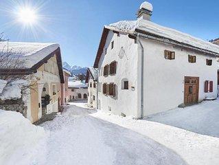 Ferienhaus Scuol fur 6 Personen mit 3 Schlafzimmern - Ferienhaus