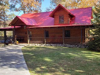 Comfort, Convenience and Privacy - The Ultimate Log Cabin Experience