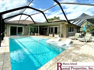 Beachcomber; Beautiful 3 Bed, 2 Bath home near beach entrance; Heated Pool