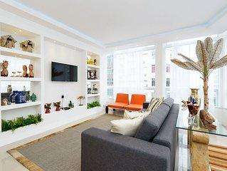 CaviRio SF701 – Bonito apartamento em Copacabana