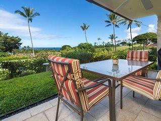 Keauhou Akahi 103-Ground Floor Condo that sleeps 4!Ocean & Golf Course Views!