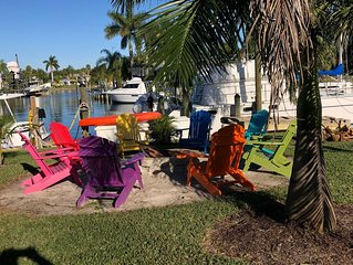 2 bedroom waterfront with dock for your boat