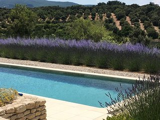 Ciel Du Luberon - your holiday villa with large pool in Bonnieux