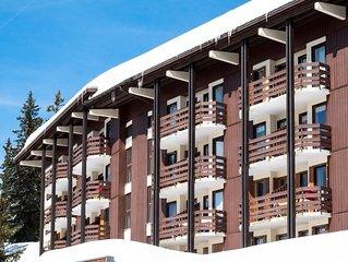 La Rosière - Appartement 6 personnes avec balcon et garage près des pistes