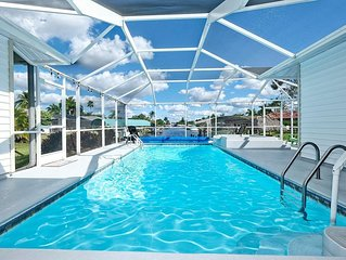 YOUR WATERVIEW, POOL,  AND LOCATION PARADISE STARTS RIGHT HERE-4BED