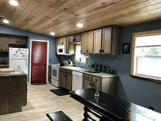Peaceful forest cottage meticulously updated for your comfort.