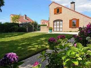 Schouwse duin 36 Ferienhaus in Parkanlage mit Garten in Südlage