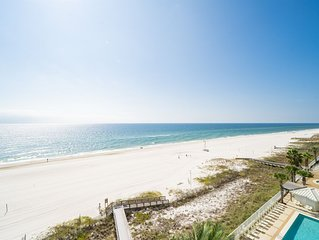 Pelican Pointe 702! 3/2 Beach front condo awaits you!