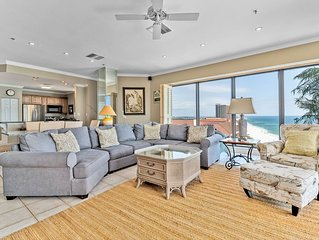 Seachase 1601 W! Beachfront Penthouse! Spacious for the family!