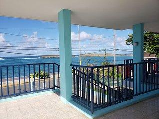 Oceanfront property, complete 2nd floor.