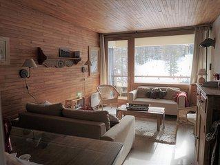Appartement dans résidence aux pieds des pistes