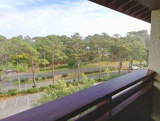 New ! A 150 m de la plage, Appartement lumineux pour 4 avec parking prive