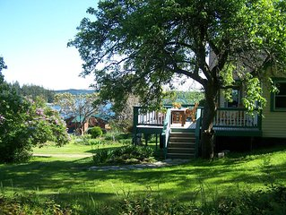 Quintessential Island Getaway on Orcas Island. Gorgeous view! Starting at $199