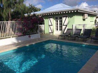 Filao Villa with private pool and secure in Sainte Anne