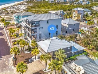 'Stone's Throw Cottage' Inlet Beach Vacation Rentals Steps to Sand + Gulf Views!
