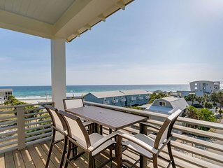 Aqua Vista 30A Inlet Beach Vacation Rental Just Steps to Beach + Private Pool!