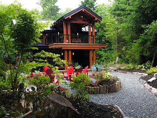 Luxury 2 1/2ac Home Situated in Old Growth Forest with Hot Tub and Oceanfront!!!