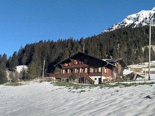 Ferienhaus Adelboden fur 6 Personen mit 3 Schlafzimmern - Ferienhaus