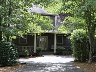 Fairway to Seven Four Bedroom House in Big Canoe on the Creek Golf Course