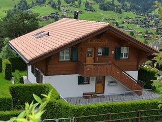 Ferienwohnung Grindelwald fur 4 Personen mit 2 Schlafzimmern - Ferienwohnung