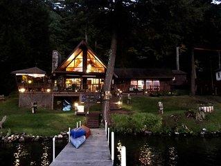 Beautiful Vermont Lake House on Lake Morey